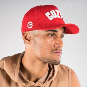 Cuzy T Mens Red 510 A Frame Flexi Fit Cap One Size